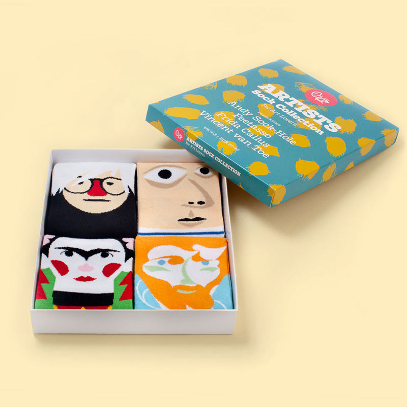 The Artists Socks Gift Set