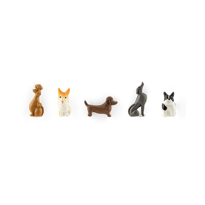 Three by Three, Polyresin Animal Magnets - Dogs