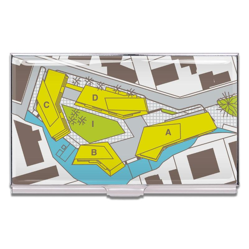 """Site Plan"" Card Case by Hariri & Hariri"
