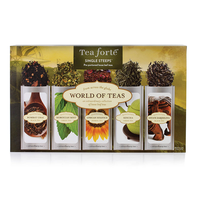 Single Steeps® World of Teas