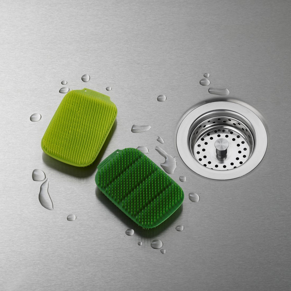 CleanTech Washing Up Scrubber, Set of two
