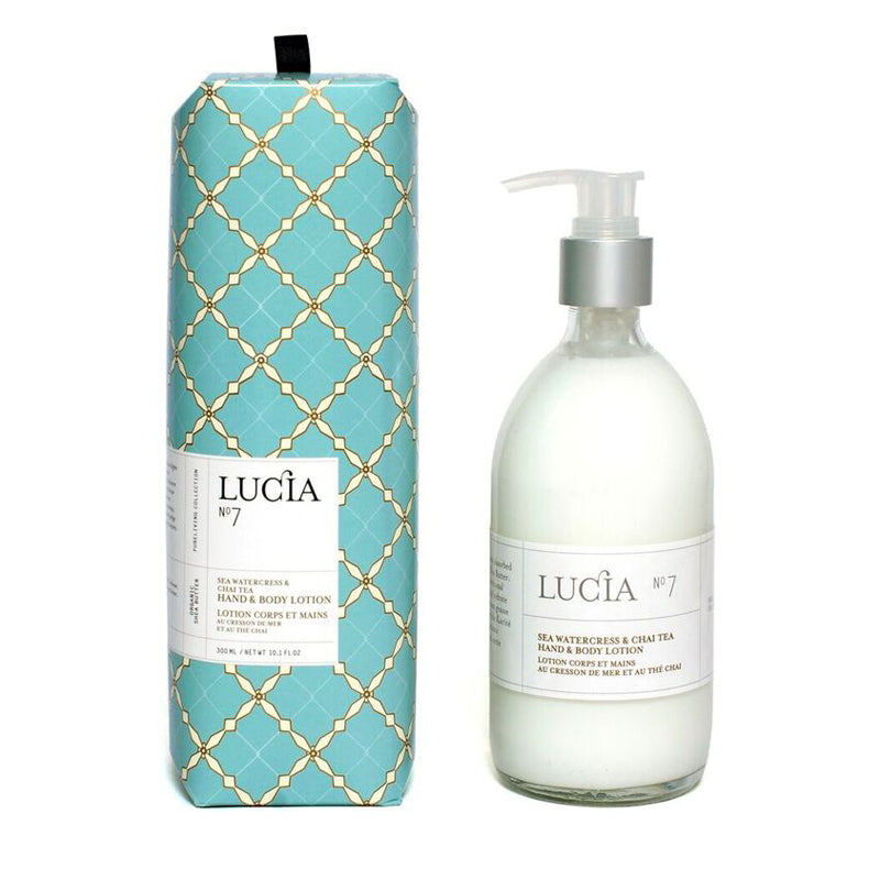 Sea Watercress & Chai Tea Hand & Body Lotion