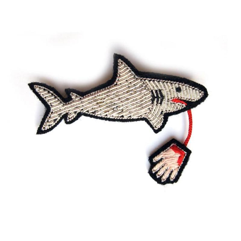 Shark with Hand Pin