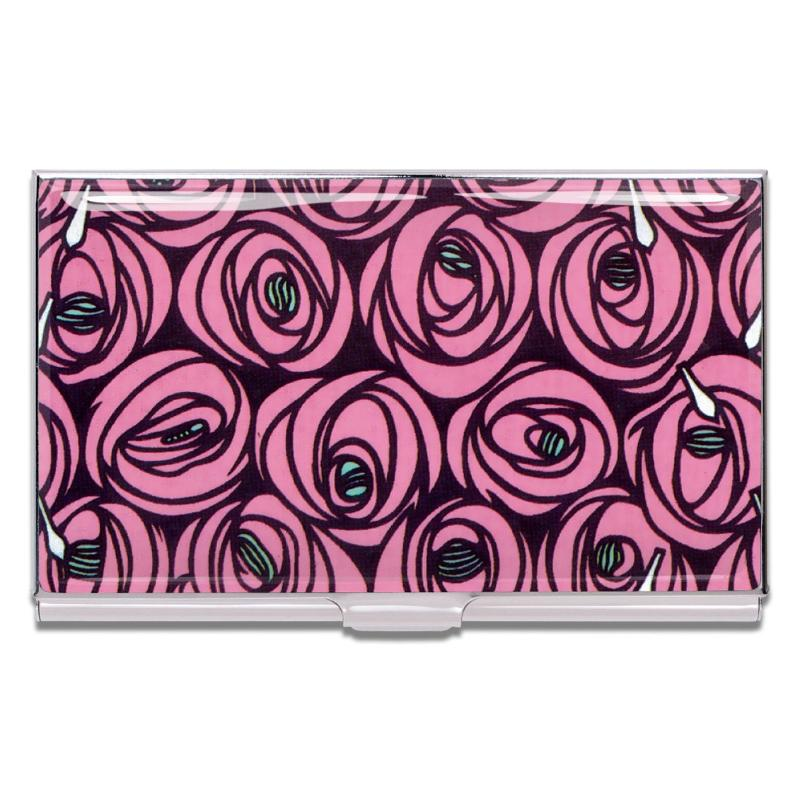 """Roses"" Card Case by Charles Rennie Mackintosh"