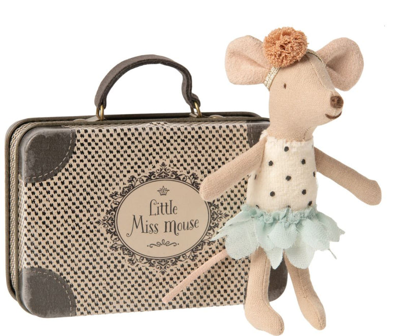 Maileg, Little Miss Mouse in a Suitcase