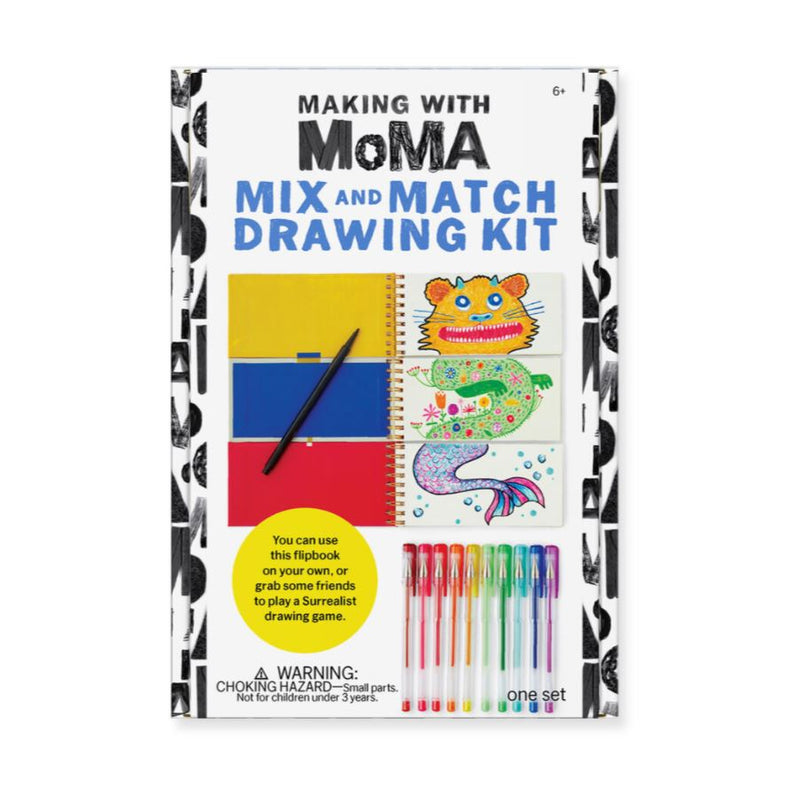 Making with MoMA: Mix and Match Drawing Book