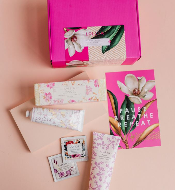Lollia Calming Gift & Care Package