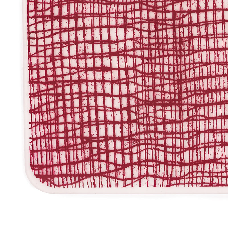 Silicone Placemat - Cranberry