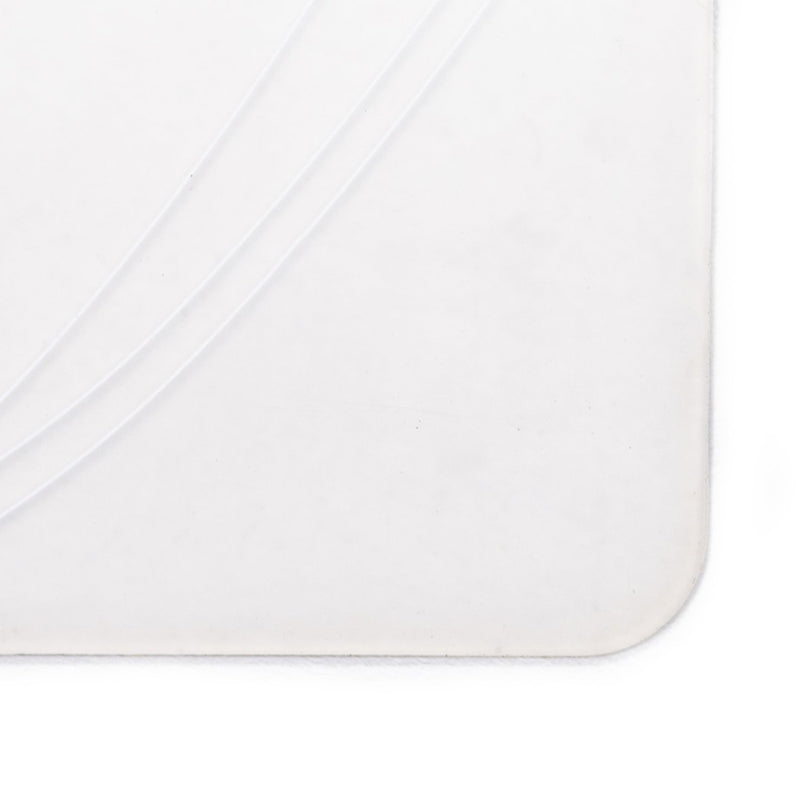 Modern Twist Pebbles Placemat - White