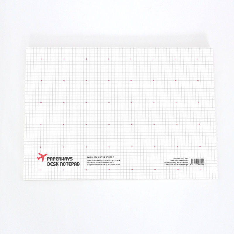 Cross Square Notepad