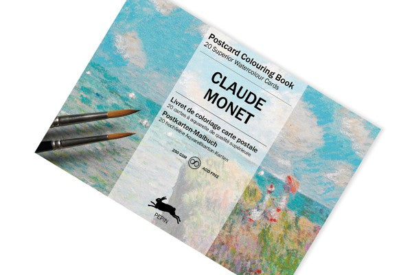 Pepin Press, Claude Monet, Postcard Colouring Book