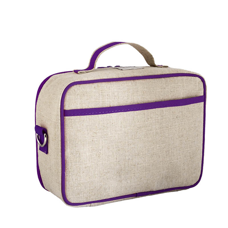 Purple Dandelion Lunch Box