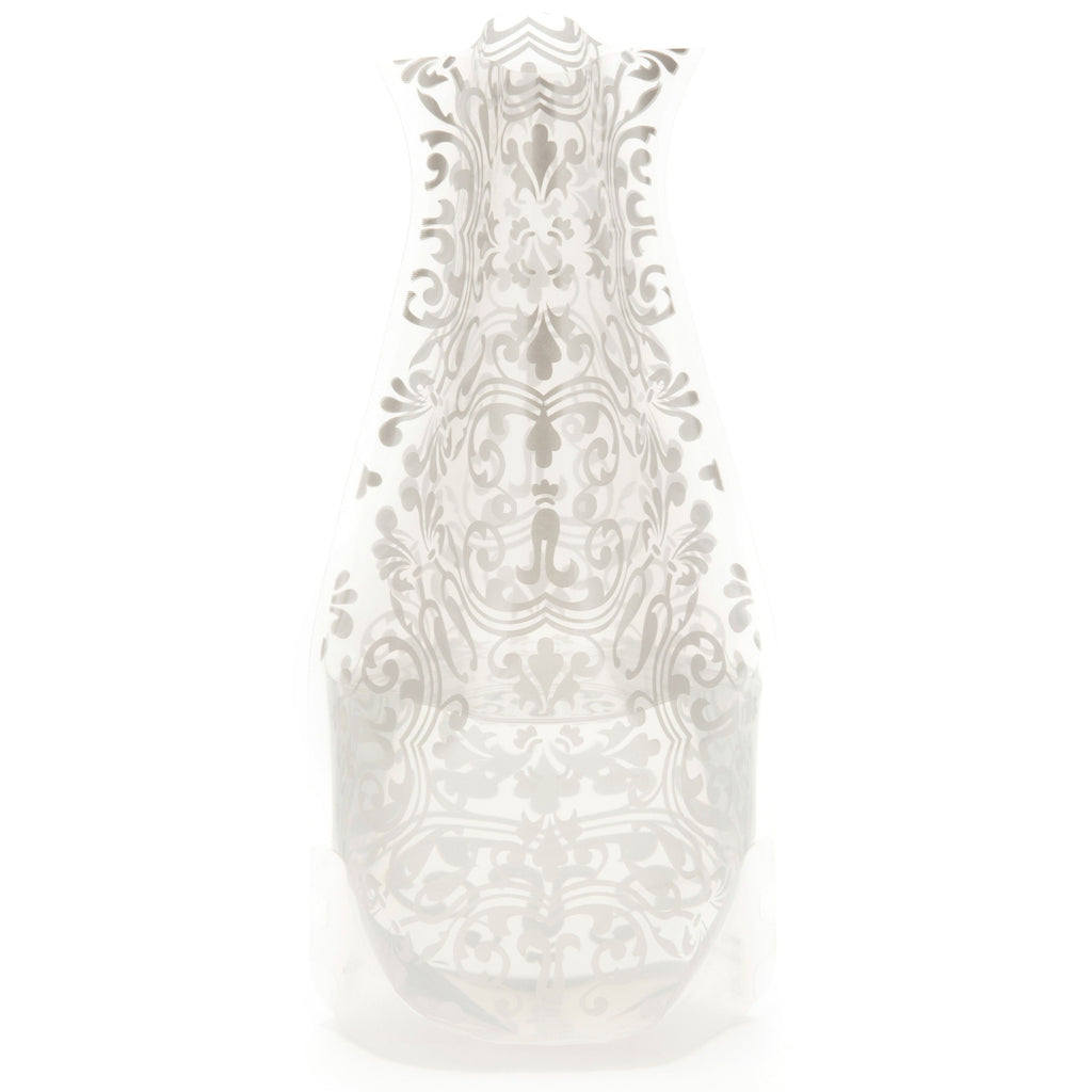 Modgy Expandable Flower Vase, Chichi Silver
