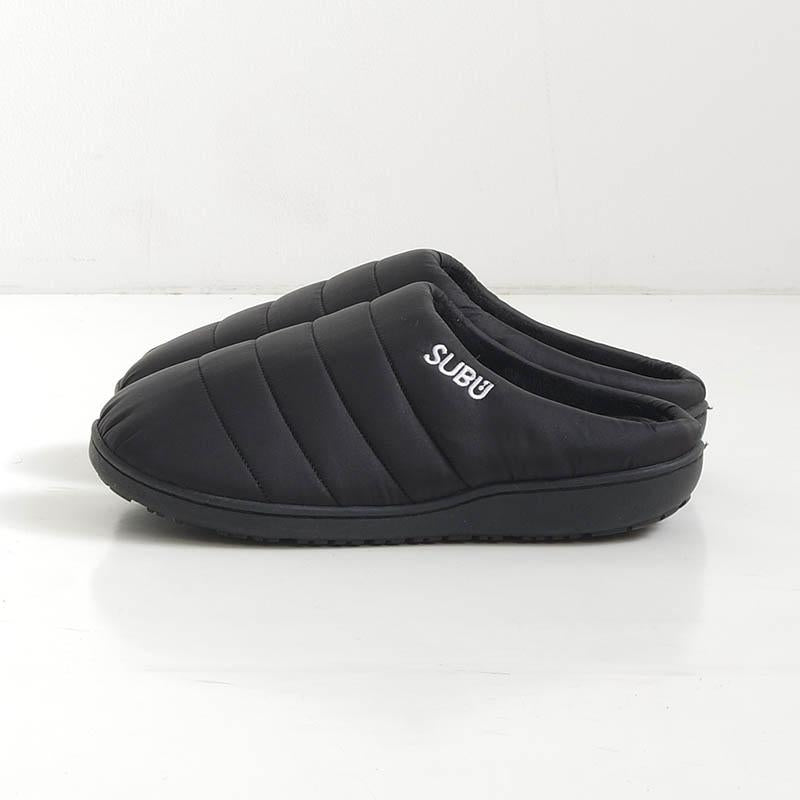 Subu, Indoor Outdoor Slippers in Black