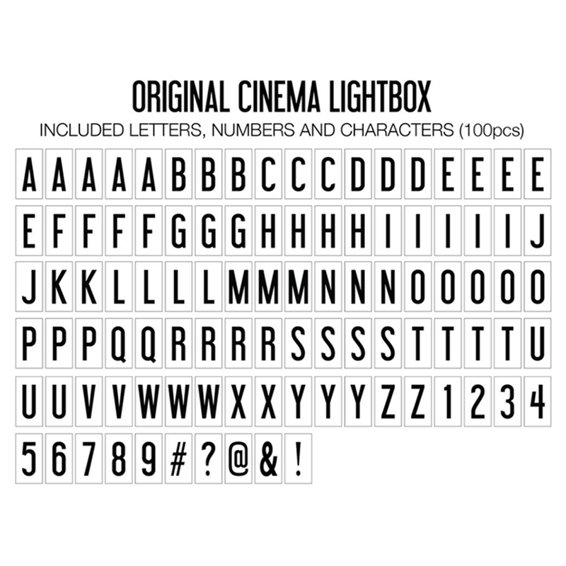Original Cinema Lightbox