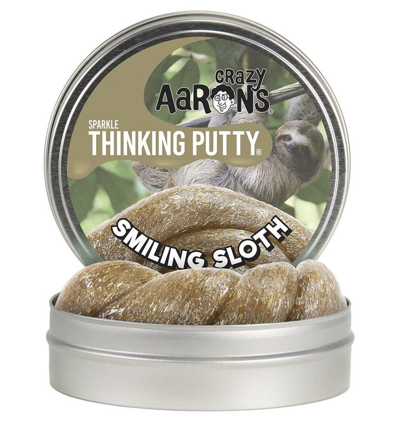 Crazy Aarons Thinking Putty, Smiling Sloth