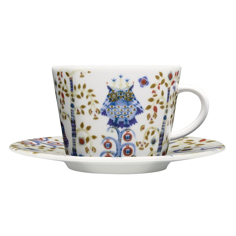 Iittala Taika Coffee/Teacup with Saucer