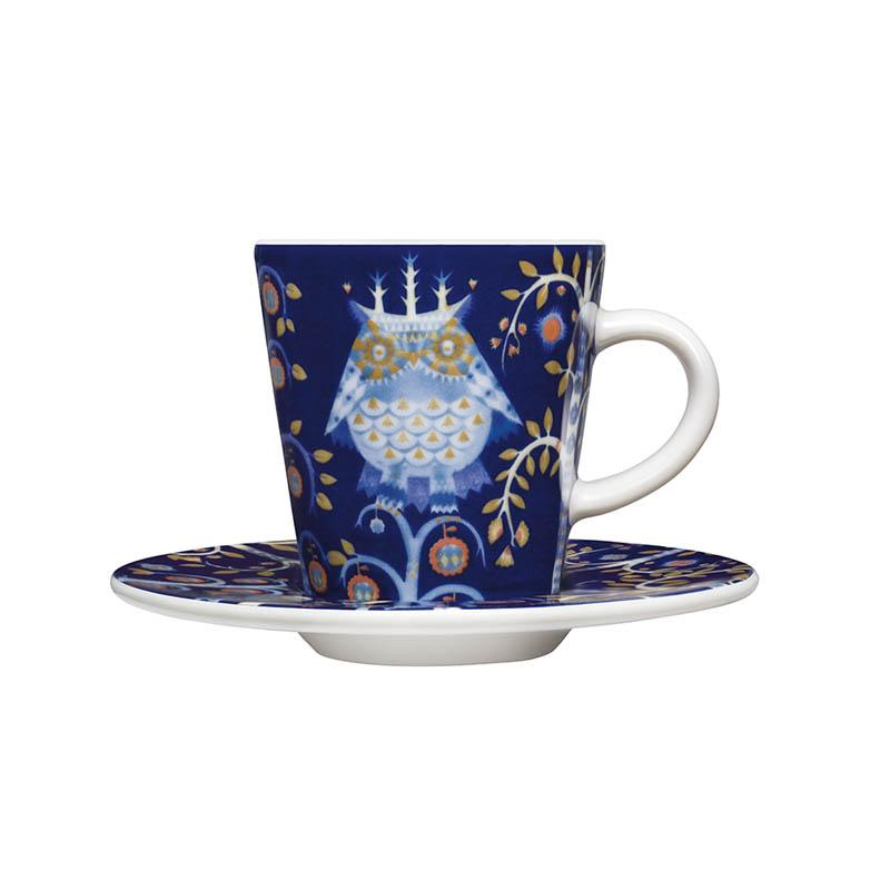 Iittala, Taika Espresso Cup with Saucer