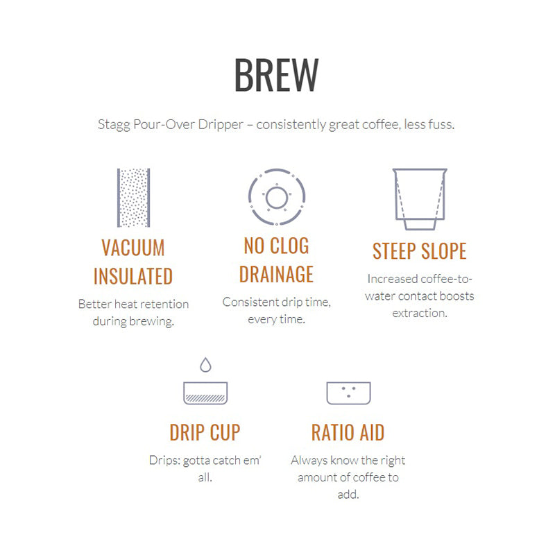 Stagg [X] Pour-Over Set