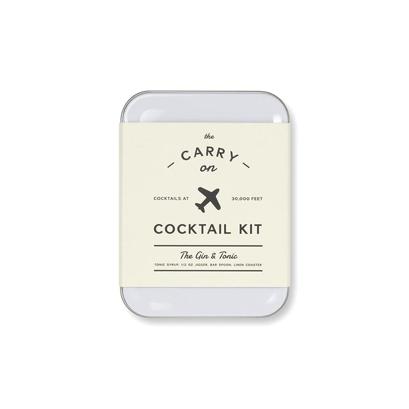 The Gin & Tonic Carry on Cocktail Kit