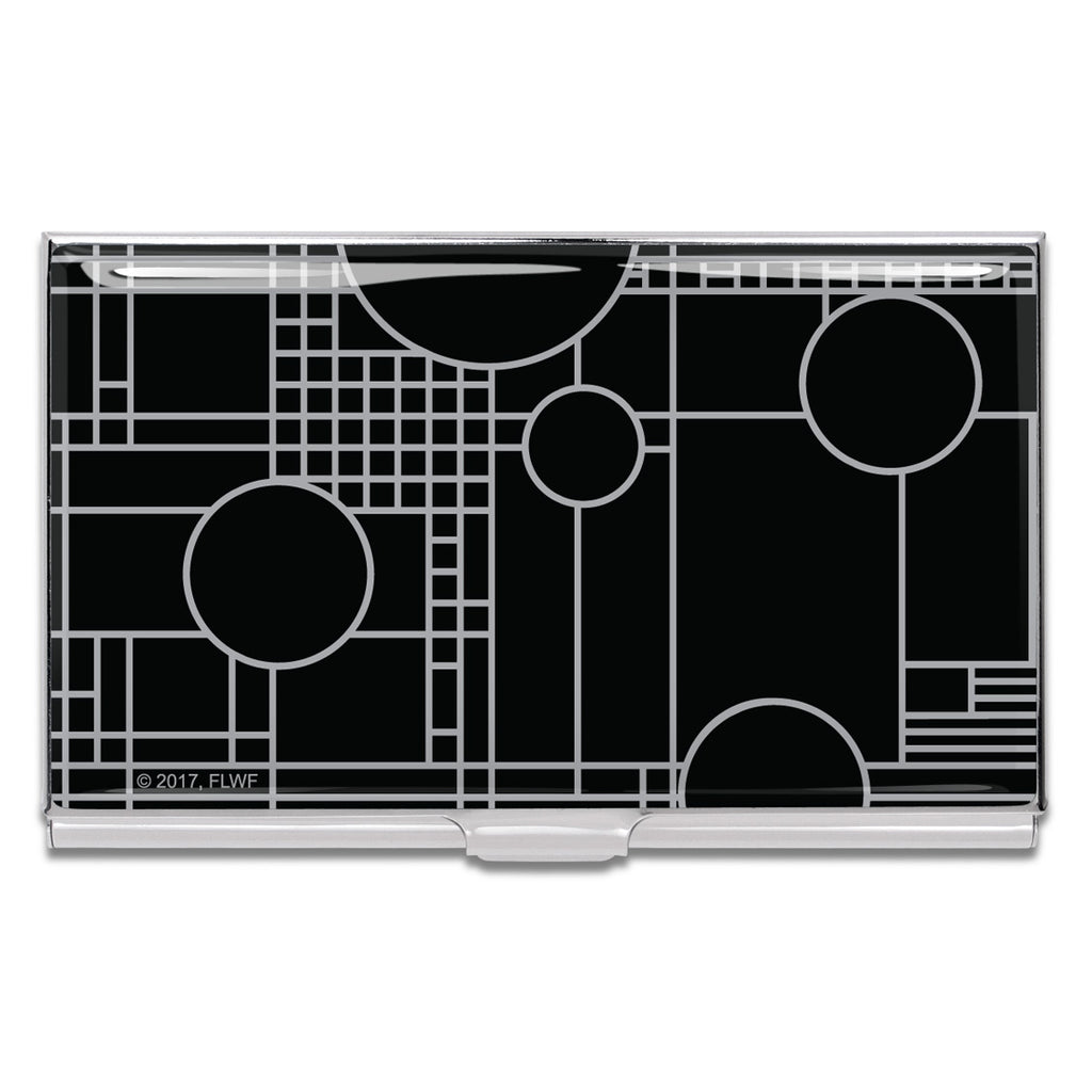"""Playhouse Black"" Card Case by Frank Lloyd Wright"