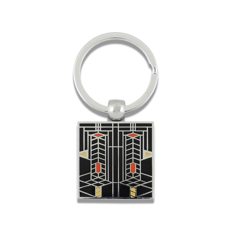"""Robie House"" Key Ring by Frank Lloyd Wright"
