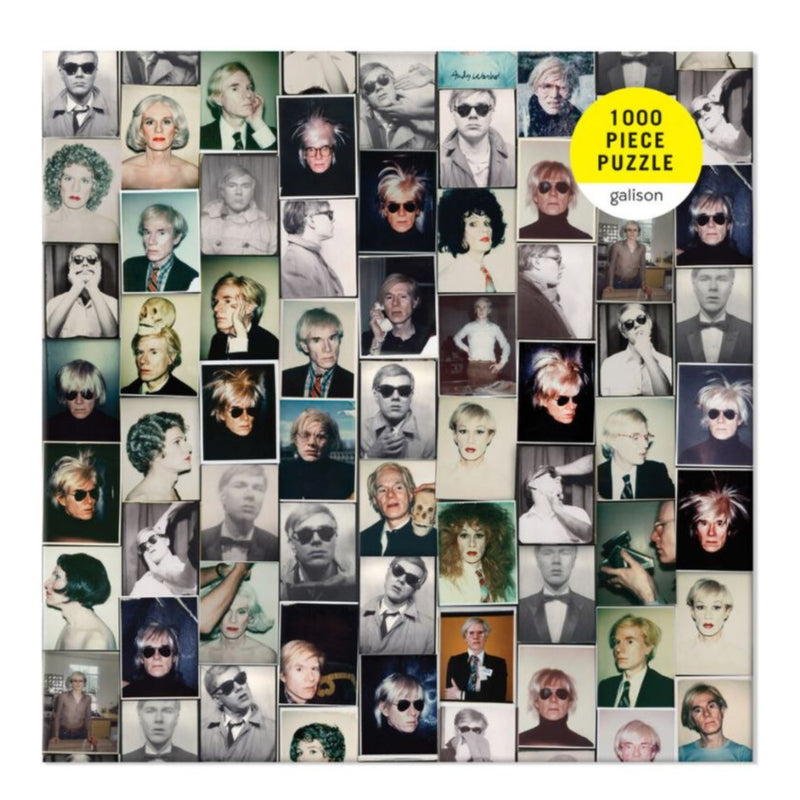 Galison, Andy Warhol Selfies 1000 Piece Jigsaw Puzzle