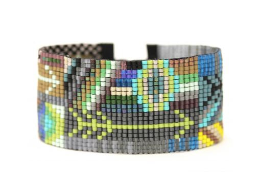 Handwoven Arrows Cuff
