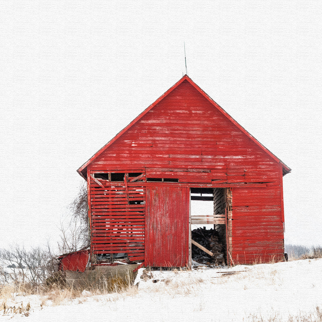 Newport Barn Canvas Print