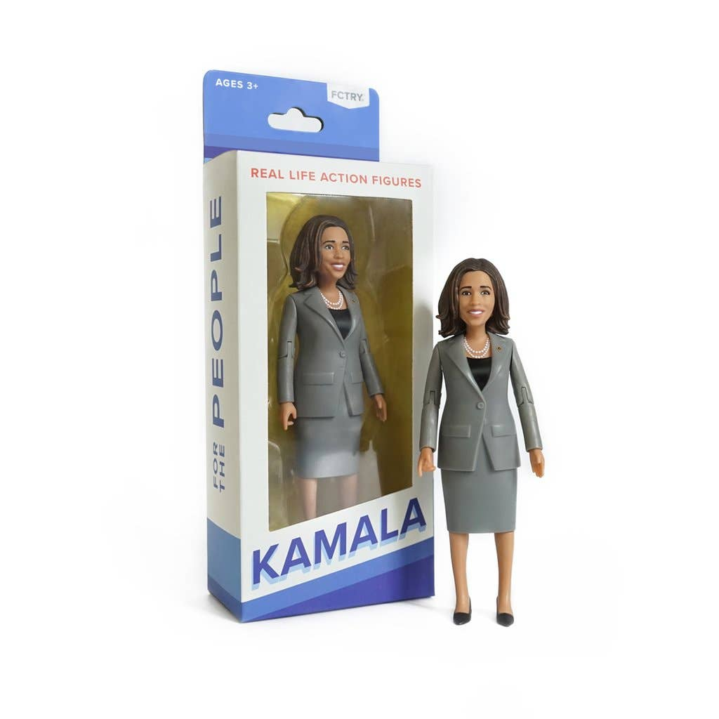 FCTRY, Kamala Harris Action Figure, with Box, Political Figure, 2020 Presidential Candidate