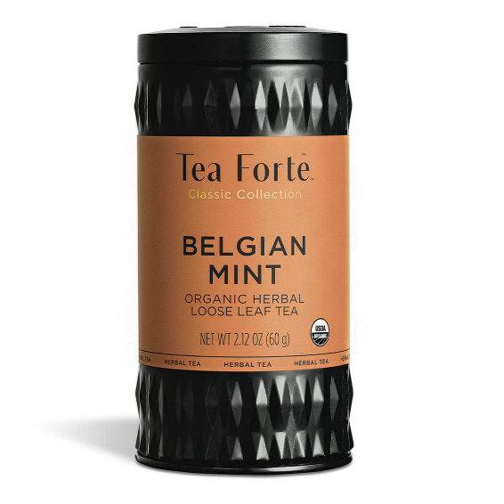 Belgian Mint Loose Leaf Tea Canister