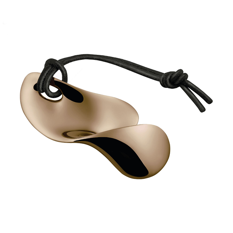 Alessi, Bulla Bottle Opener, Sleek Kitchen, Stainless steel in Golden Pink Coating
