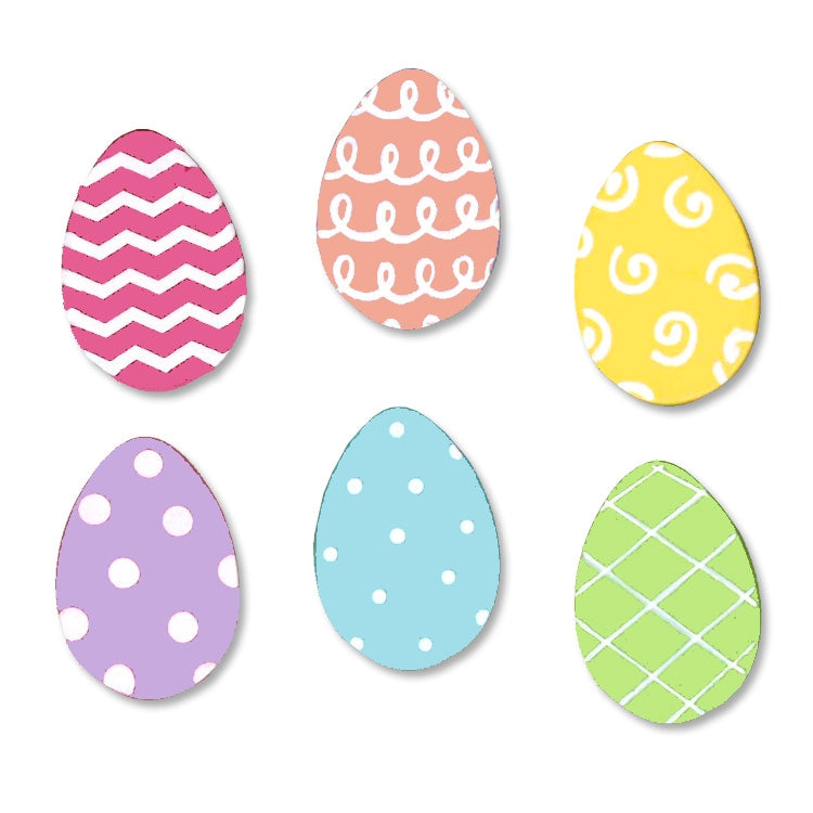 Roeda Magnets, Easter Egg magnets S/6