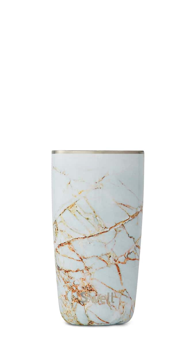 Calcutta Gold Tumbler by S'well, 18 oz