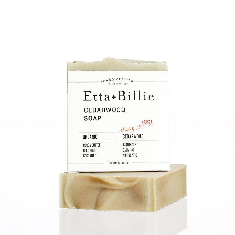 Etta + Billie, Cedarwood Soap
