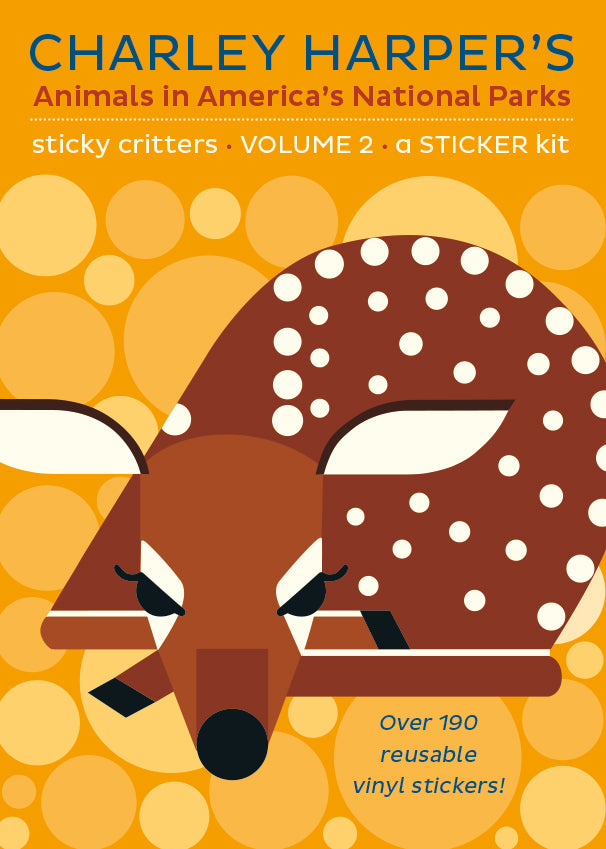 Charley Harper's, Animals in America's National Parks, Sticker Kit