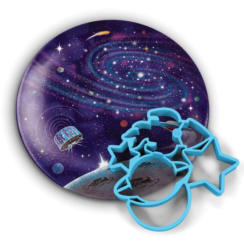 Crack A Smile - Outer Space, Breakfast Mold & Plate Set