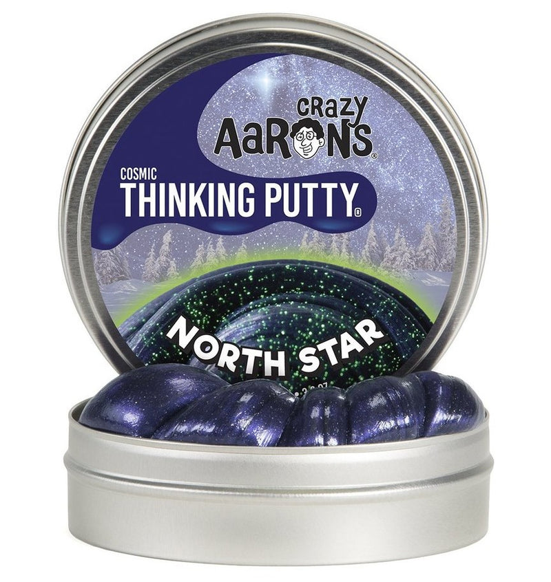 Crazy Aarons Thinking Putty, North Star