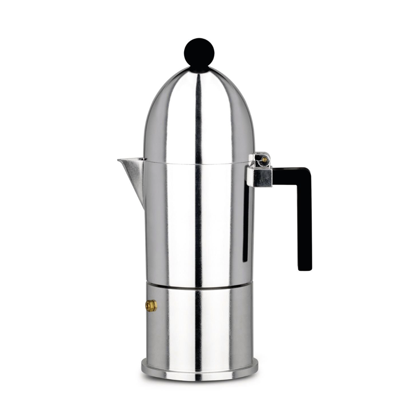 Alessi La Cupola Espresso Coffee Maker, 3 Cups