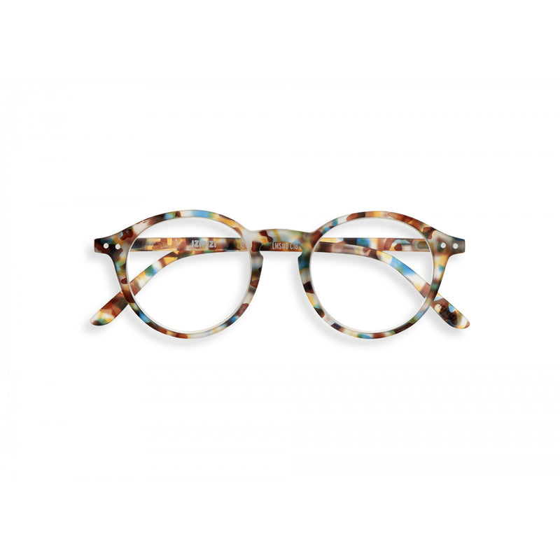 Blue Tortoise Reading Glasses