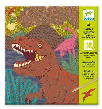 Scratch Cards, Dinosuars