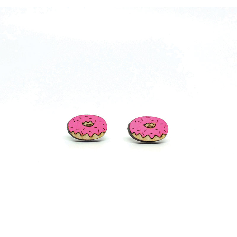 Unpossible Cuts, Donut Earrings