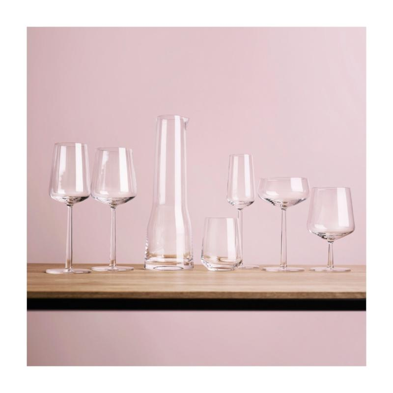 Iittala, Essence Wine Glasses, Sets of 2, White Wine, Red Wine, Champagne Glasses, Stemless wine glasses