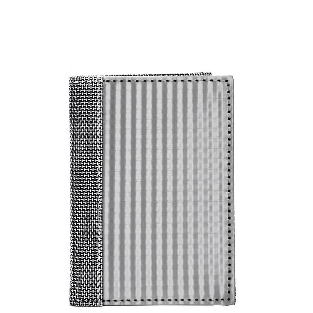 Driving Wallet Checkered, Silver