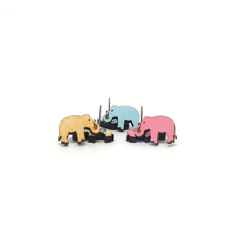 Unpossible Cuts, Elephant Earrings