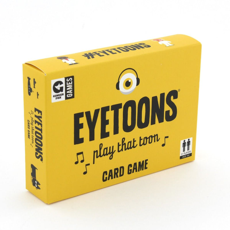 Eyetoons, play that toon Card Game
