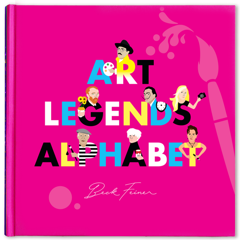 Art Legends Alphabet Book, Kids Book