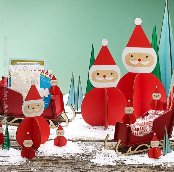 Nordic Santa Decoration, Medium