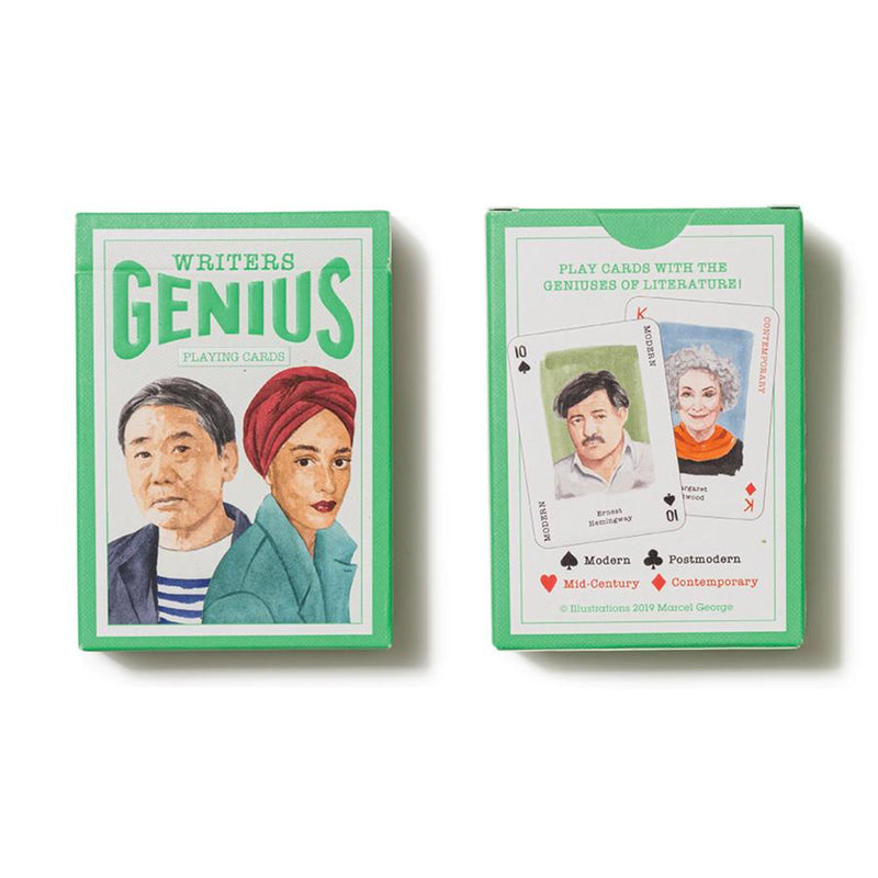 Chronicle Books, Genius Writers Playing Cards
