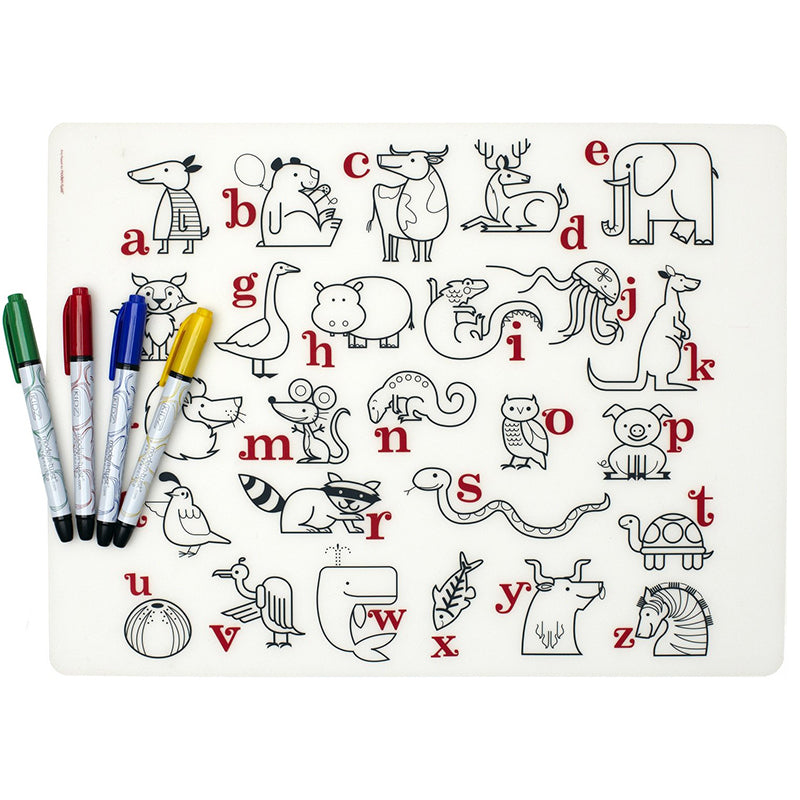 Mark-mat Set: Alphabet Animals